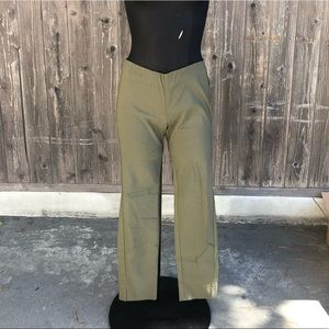 Who What Wear Olive Pants